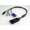 ATEN バーチャルメディア/オーディオ対応USBコンピューターモジュールKA7176 (KA7176)