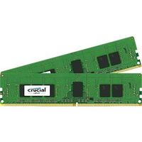 8GB Kit (4GBx2) DDR4 2133 MT/s (PC4-2133) CL15 SR x8ECC Unbuffered DIMM 288pin画像