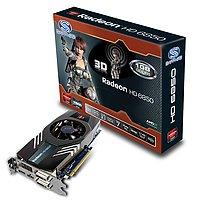 HD6850 1G GDDR5 PCI-E DL-DVI-I/SL- DVI-D/HDMI/DP