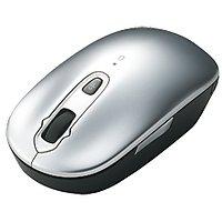 【キャンペーンモデル】4ボタン Bluetooth(R)レーザーマウス(シルバー) 10個セット