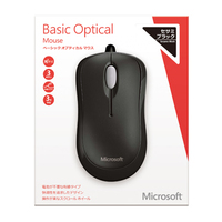 Microsoft Microsoft Basic Optical Mouse for Business Mac/Win USB Japanese 1 License Black (4YH-00003)画像