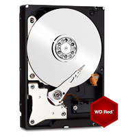 Western Digital WD Red SATA6Gb/s 64MB 1TB 5,400rpm class 3.5inch (WD10EFRX)画像