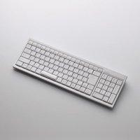 パンタグラフ式キーボード/103キー/Bluetooth/Mサイズ/ホワイト